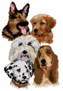 Схема Собачий шарм / Canine Charm