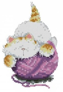 Схема Кошак на клубке