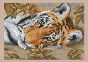 Схема Привлекательный тигр / Beguiling Tiger