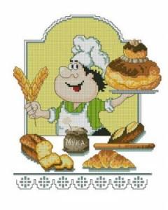 Схема Хлеб всему голова. Поварята