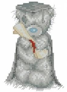 Схема Выпускник. Мишка Тедди