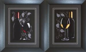 Схема Натюрморты с вином