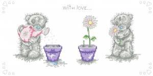 Схема С любовью. Мишка Тедди