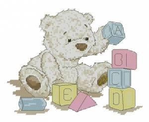 Схема Мишка с кубиками