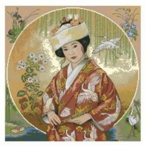 Схема Японская дева