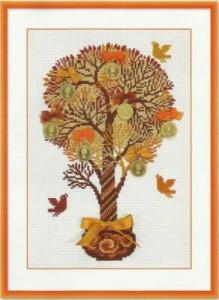 Схема Деревце с бантиками