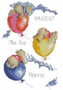 Схема Мишки на шарах