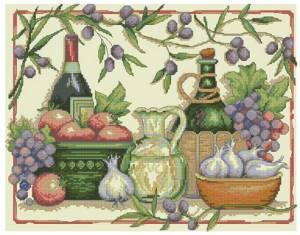 Схема Тосканские ароматы