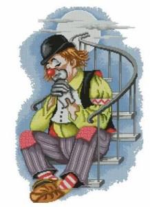 Схема Грустный клоун