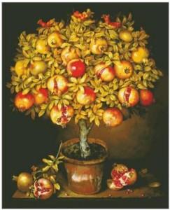 Схема Гранатовое дерево