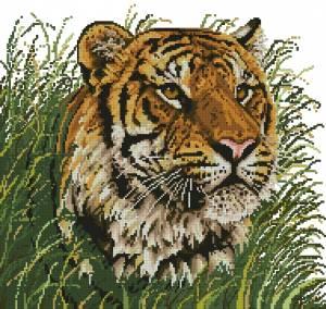 Схема Тигр на охоте