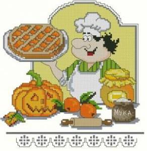 Схема Тыквенно-апельсиновый пирог. Поварята