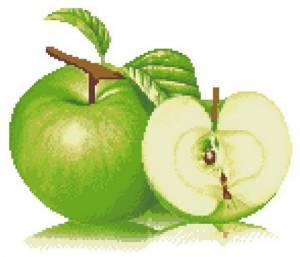 Схема Зелёное яблоко