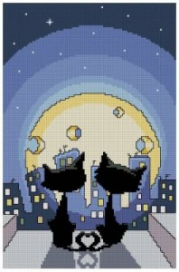 Схема Кошки и сырная луна
