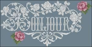 Схема Бонжур / AMAP-JD173 Bonjour des Roses
