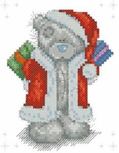 Схема Санта с подарками