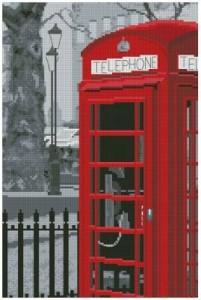 Схема Лондонский телефон