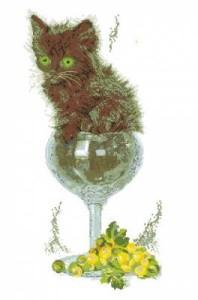 Схема Кот в бокале