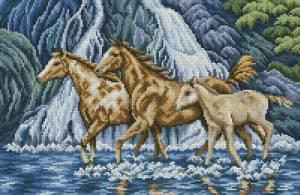 Схема Лошади у водопада