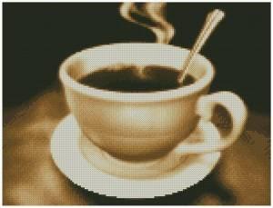 Схема Чашка кофе