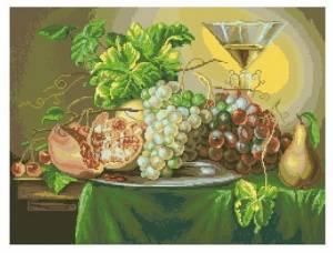 Схема Изумрудный виноград