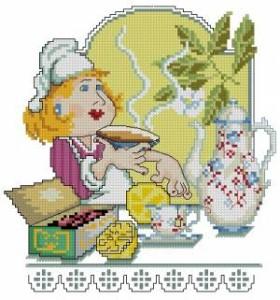 Схема Чай с лимоном. Поварята
