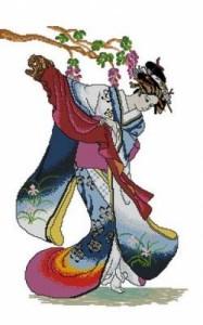 Схема Гейша и сакура