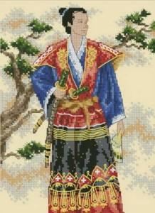 Схема Могущественный самурай