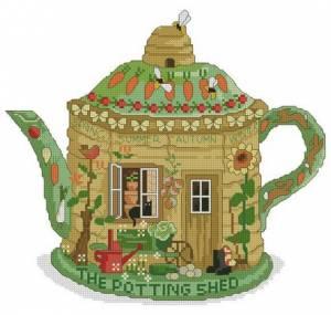 Схема Чай в саду