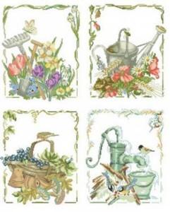 Схема Сад, огород