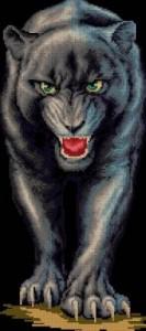 Схема Серебряная пантера / Silver panther