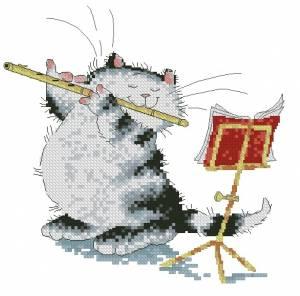Схема Кошак и флейта