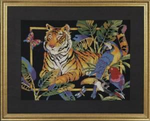 Схема Тигр и попугаи / Tiger and Parrots