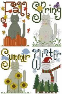 Схема Сезоны. Коты