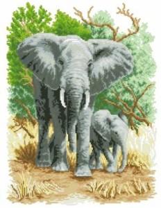 Схема Слон и слоненок