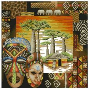 Схема Африканское окружение