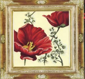 Схема Красный тюльпан