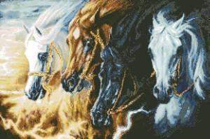 Схема Четыре лошади Апокалипсиса / Four Horses of the Apocalypse
