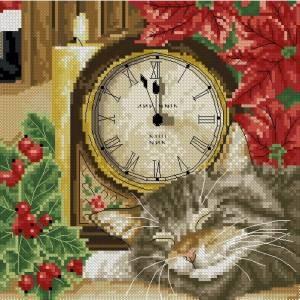 Схема Кот с часами