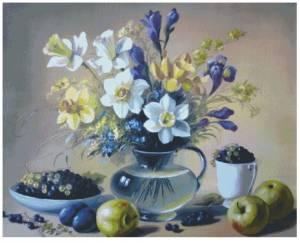 Схема Нарциссы и яблоки