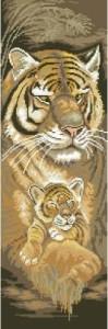 Схема Мама тигрица