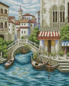 Схема Венеция. Пристань