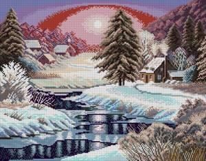 Схема Зимний рассвет