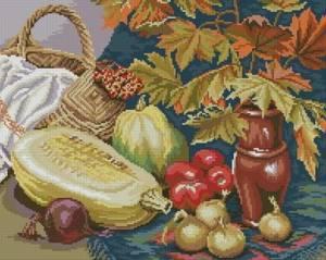 Схема Натюрморт с овощами