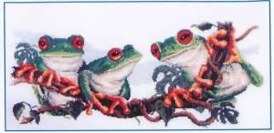 Схема Веселые лягушки