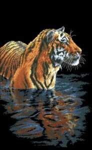Схема Купающийся тигр