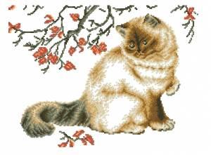 Схема Задумчивый кот