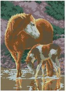 Схема Солнечные лошади