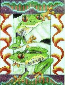 Схема Две лягушки