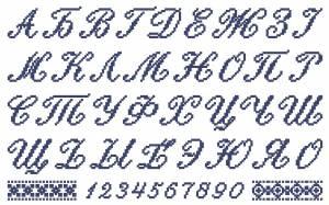 Схема Русский Алфавит